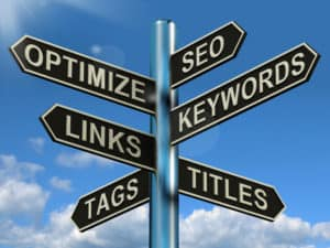 on-site and off-site SEO options