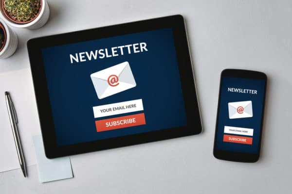 Use a pop up to grow your email list