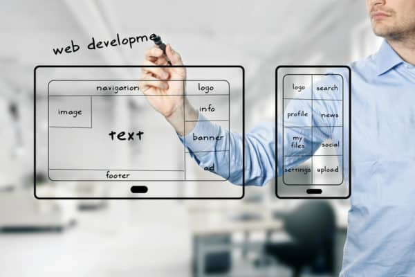 good website development and design