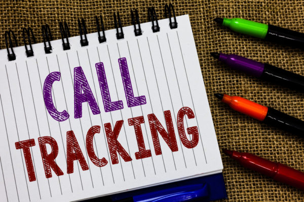 Use call tracking to monitor your marketing performance.