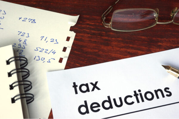 Marketing expenses are tax deductible